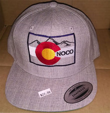 Colorado Heather Grey Snap Back Cap